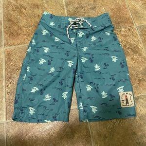 Lucky Brand board shorts swim trunks